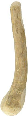 Chewies Kau-Knochen Hunde-Spielzeug aus Kaffeeholz, 100% natürliches Hundezubehör, Kauspielzeug Hund bis 10kg, Kaustab Größe S