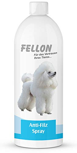 Fellon Anti Filz 1000 ml für Hunde   Entfilzungsmittel   Entfilzungsspray   Entfilzung für Hunde   Fellentfilzung