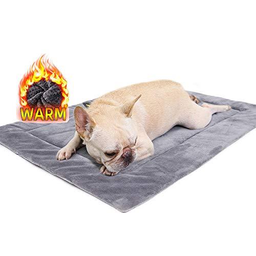 HOLEBAY-EU Isolierkissen für Haustiere Hundebett Selbstheizende Haustierkissen Hund Decke Katzenbett Haustier Thermomatte Decke Innovativ