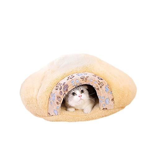 XBCWW Katzenbetten, Hundebetten Für Kleine Hunde, Beheiztes Katzenbett, Haustierbetten, Weiches Und Komfortables Tier-Nest (größe : S)