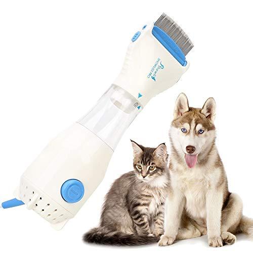 Hzlsy Elektrischer Flohkamm, Läusekamm Zum Entfernen von Läusen und Haustieren