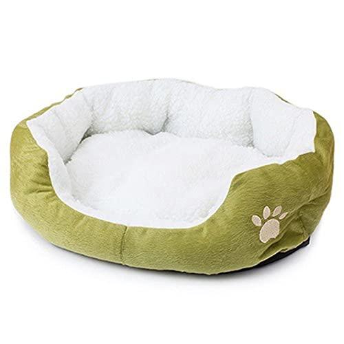 BestSiller Haustierbett für Hunde und Katzen, weich, waschbar, warm, rund, für den Innenbereich, für Welpen und Kätzchen.