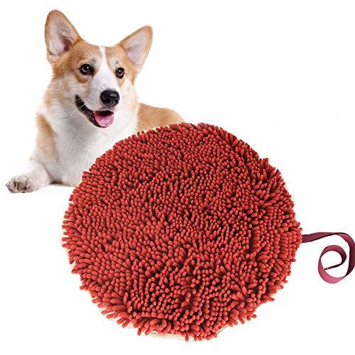Your's Bath Hund schnüffelteppich intelligenzspielzeug, Dog Puzzle Toys Hund Snuffle Mat Waschbar Faltbar Riechen Trainieren Matte rutschfest Schadstofffrei Schnüffeldecke für Haustier Hunde Katzen